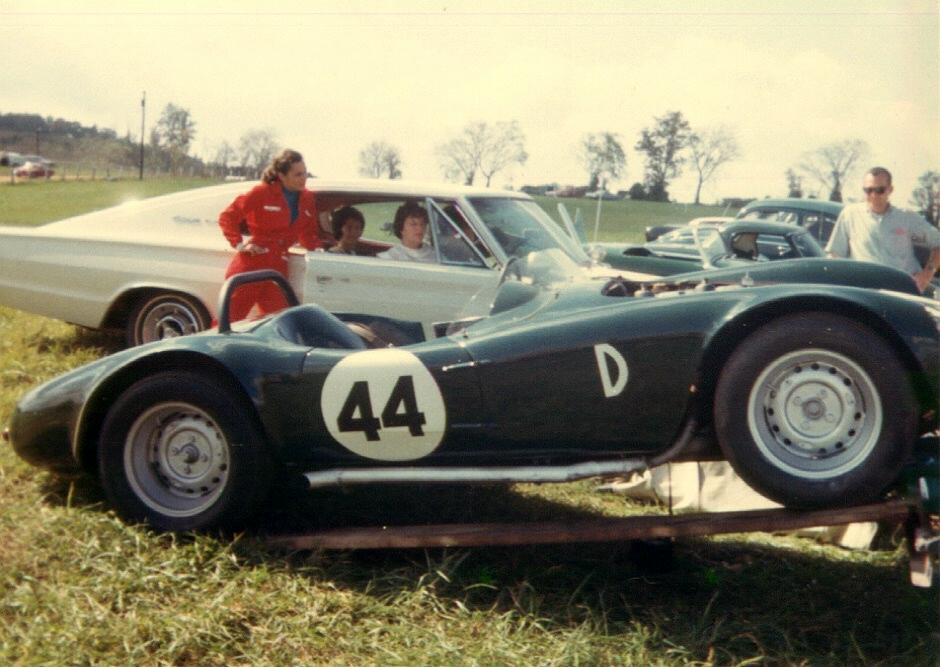 "Virginia International Raceway 1966 ""Devin Triumph"" Prototyp"